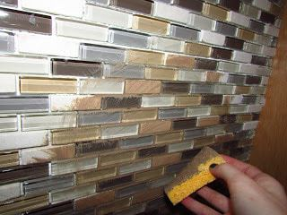 how to grout tiles