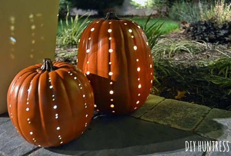 Holey Pumpkins