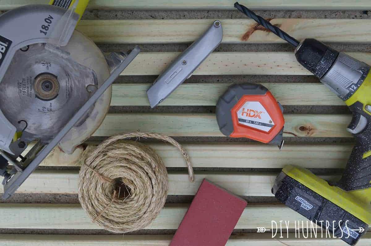 how to make a wooden doormat