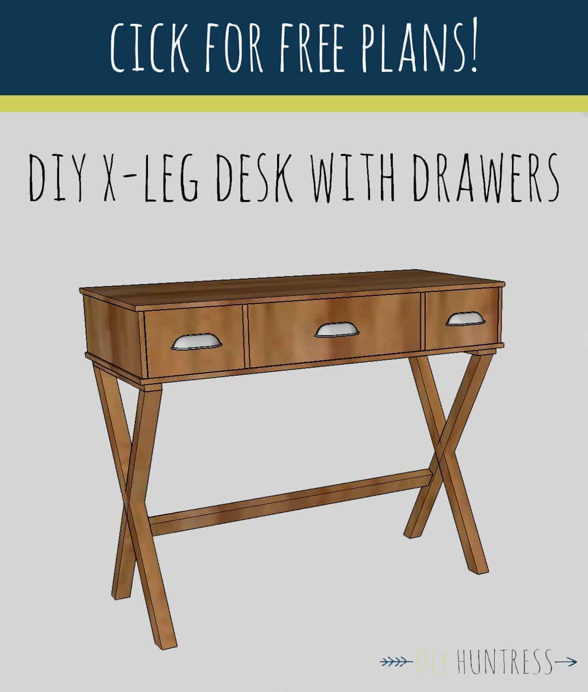 DIY_XLeg_Desk_DIY_Huntress_Plans