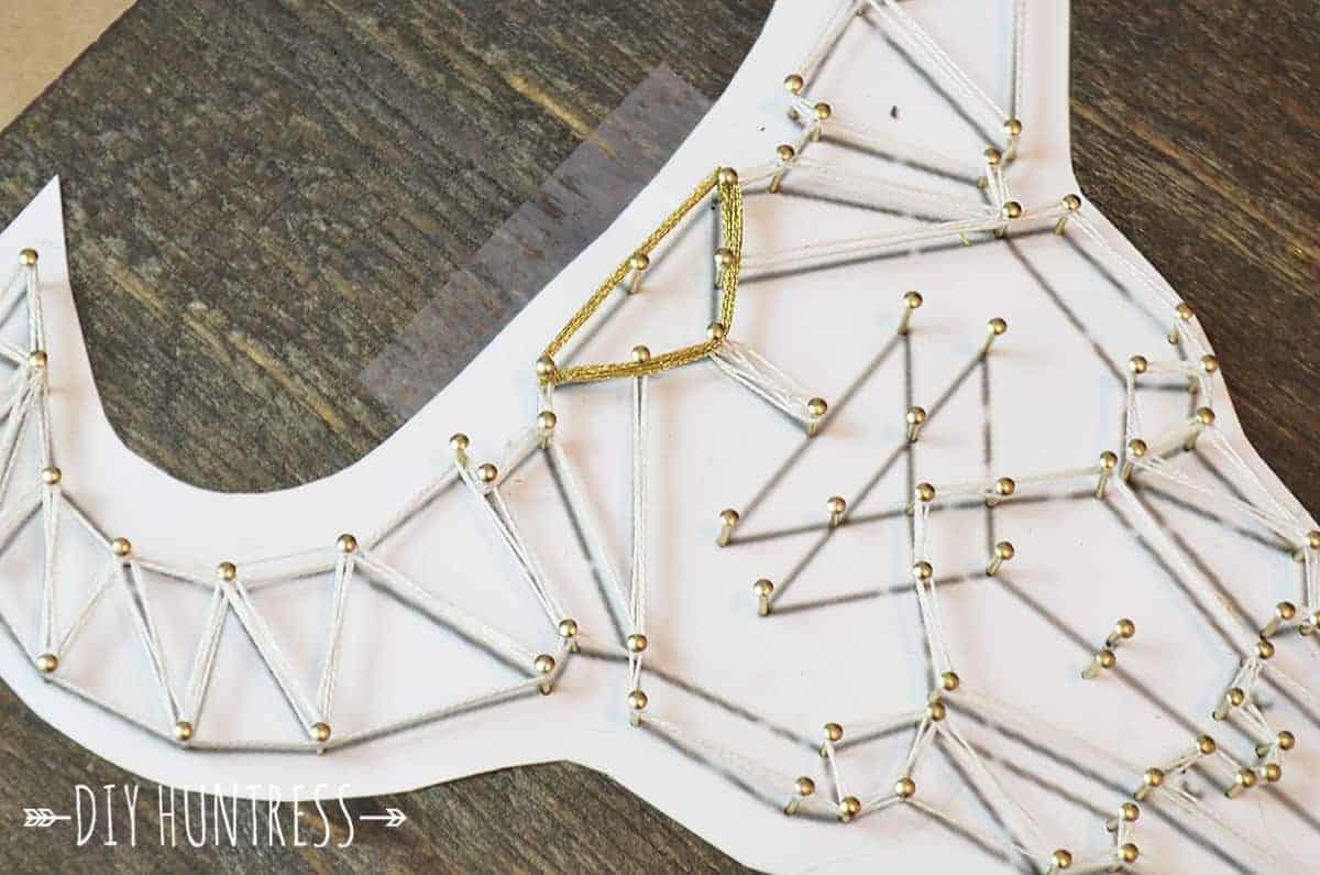 bohemian string art