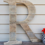 DIY Pallet Wood Letter (& First YouTube Video!)