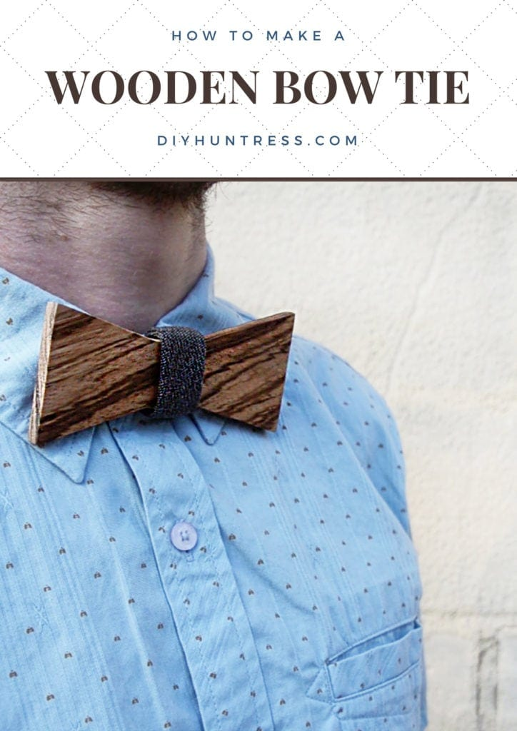 diy dog collar bow tie