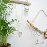 DIY Driftwood Necklace Holder