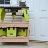 DIY Rolling Benchtop Tool Stand