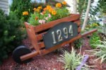 Home Depot DIH Workshop: DIY Wooden Home Address Wheelbarrow
