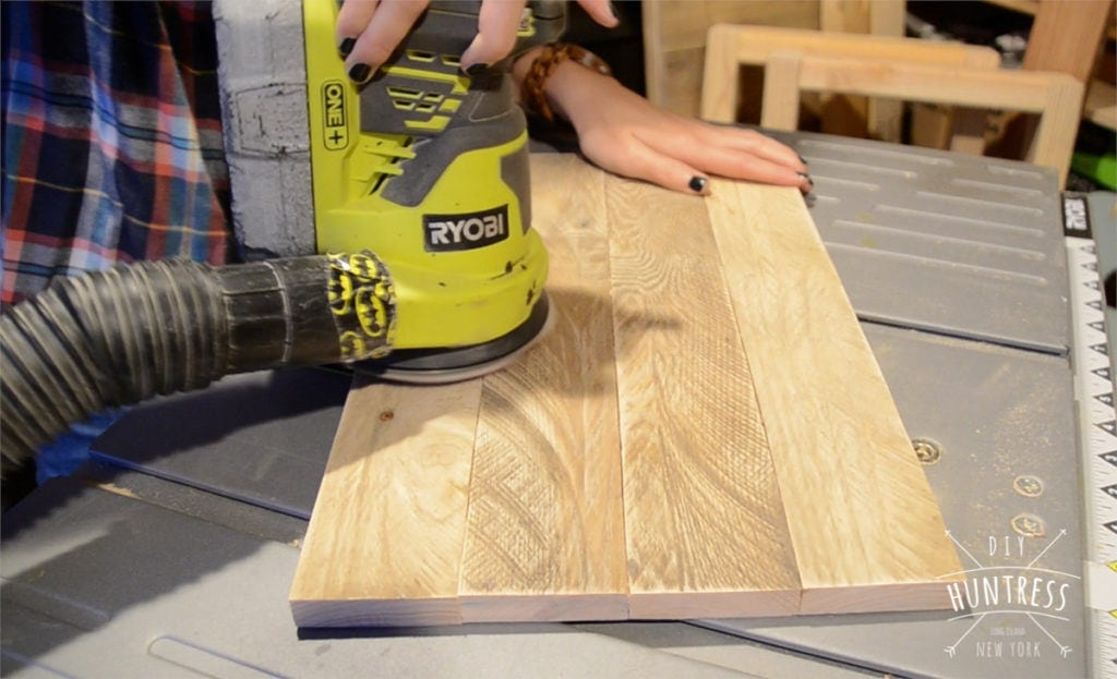 how to create a wood tray