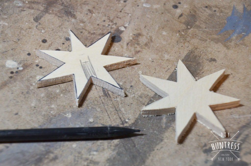 3d star ornaments