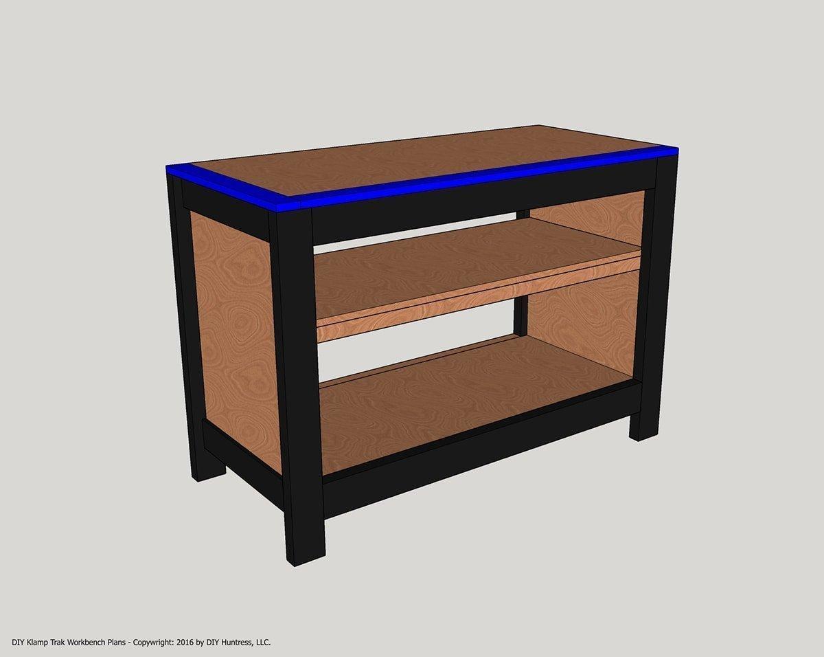 Superb Diy Kreg Klamp Track Workbench Diy Huntress Download Free Architecture Designs Embacsunscenecom