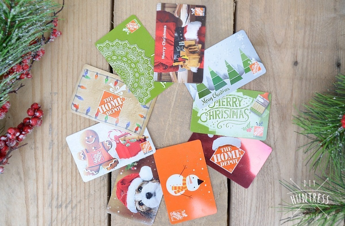 Home Depot Virtual Party Diy Christmas Tree Gift Card Holder Diy