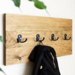 DIY Easy Wooden Coat Rack