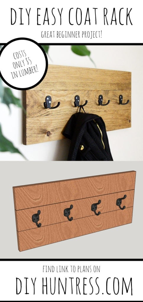 coat rack pinterest