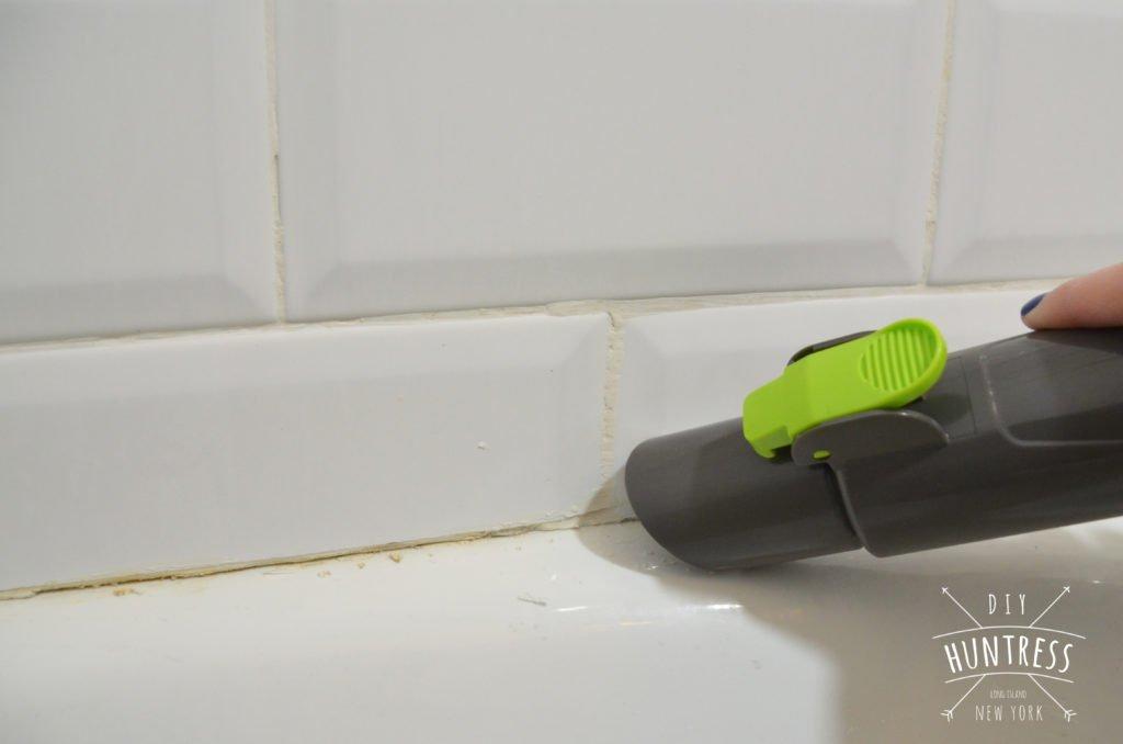 How To Re-Caulk Your Bathtub (The Right Way) - DIY Huntress