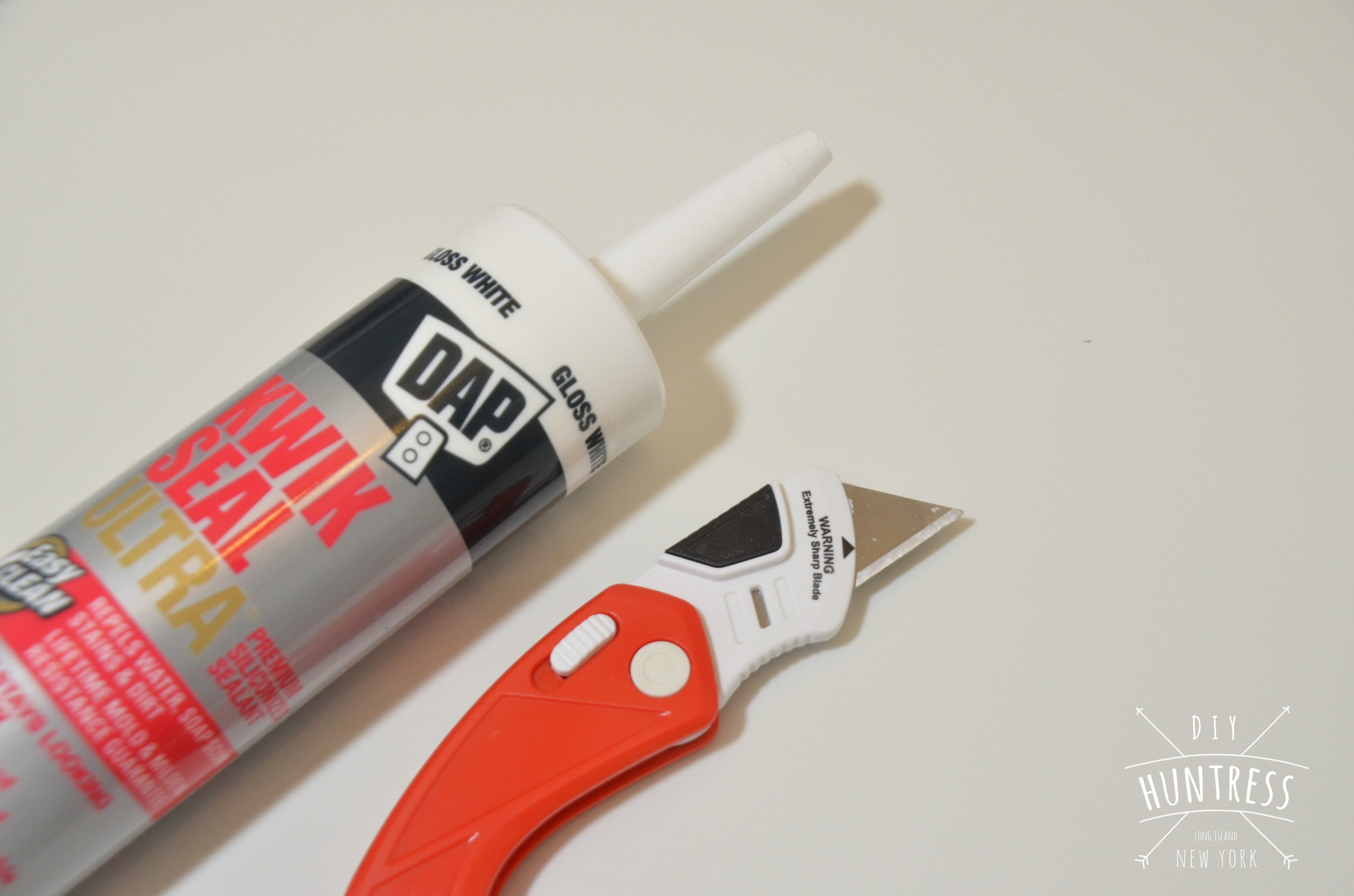 how to open caulk