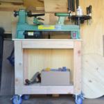 DIY Mobile Lathe Stand