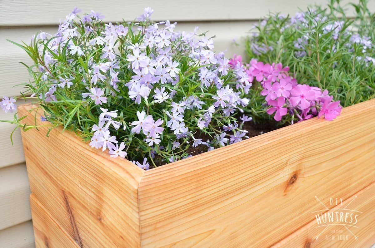 how to make a garden planter