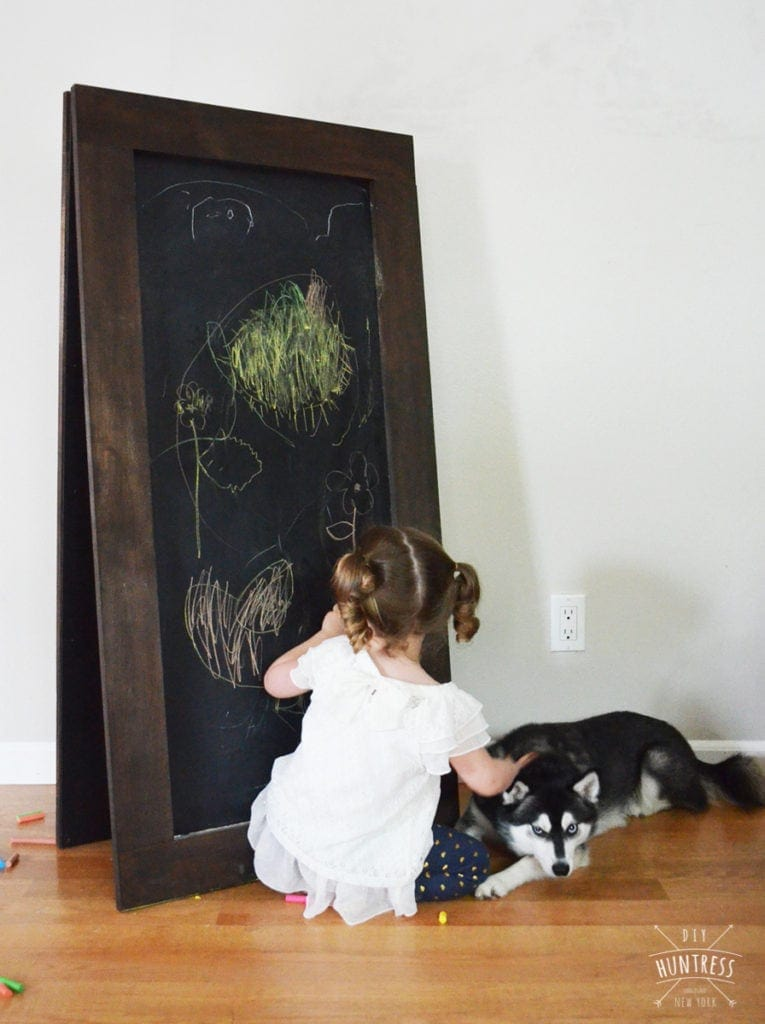 stand up chalkboard
