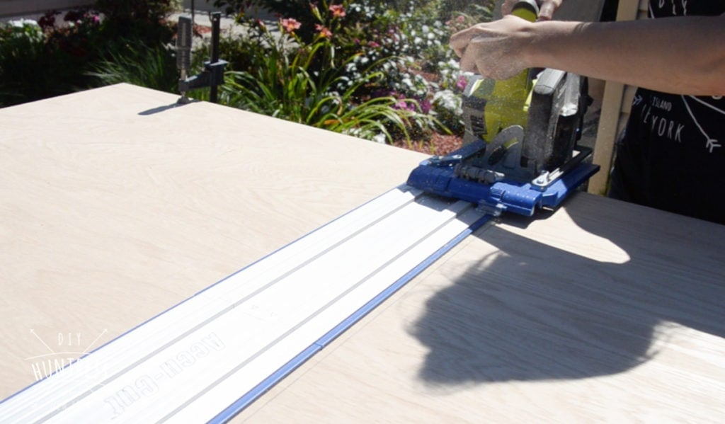 how to use kreg accu-cut track saw