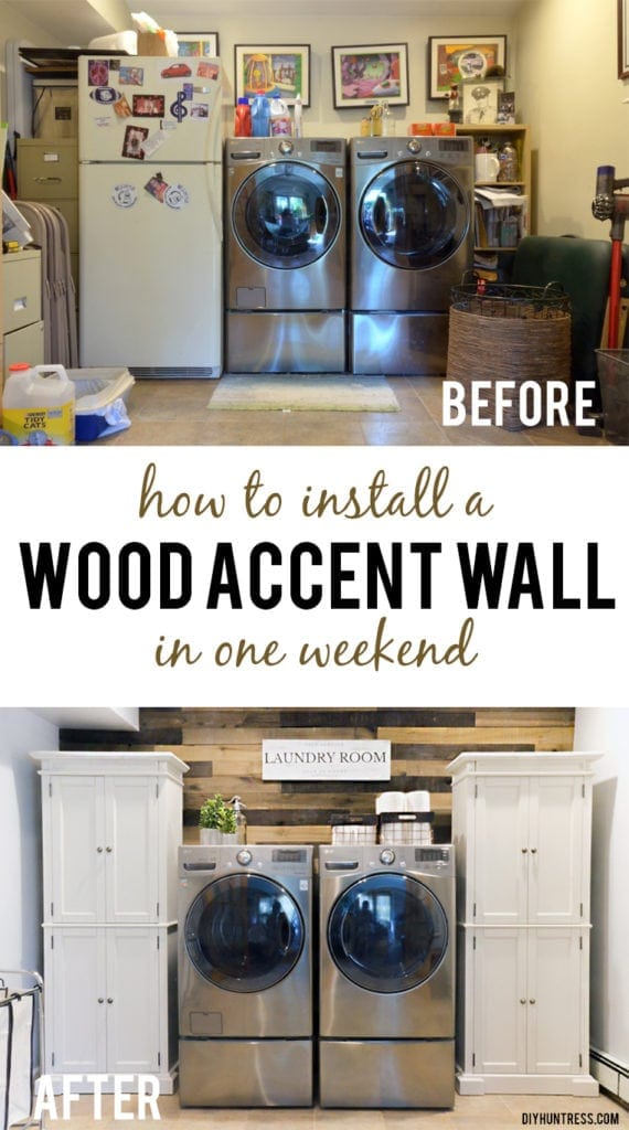 how to install a wood wall pinterest