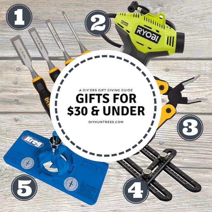diy gifts under $30