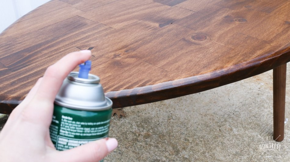 how to seal coffee table