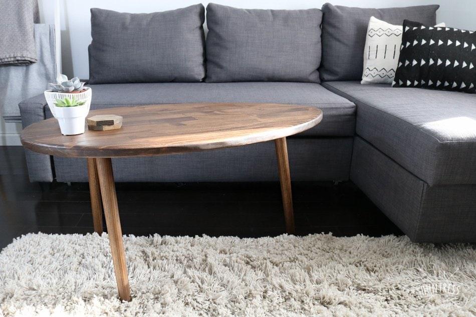 diy oval table