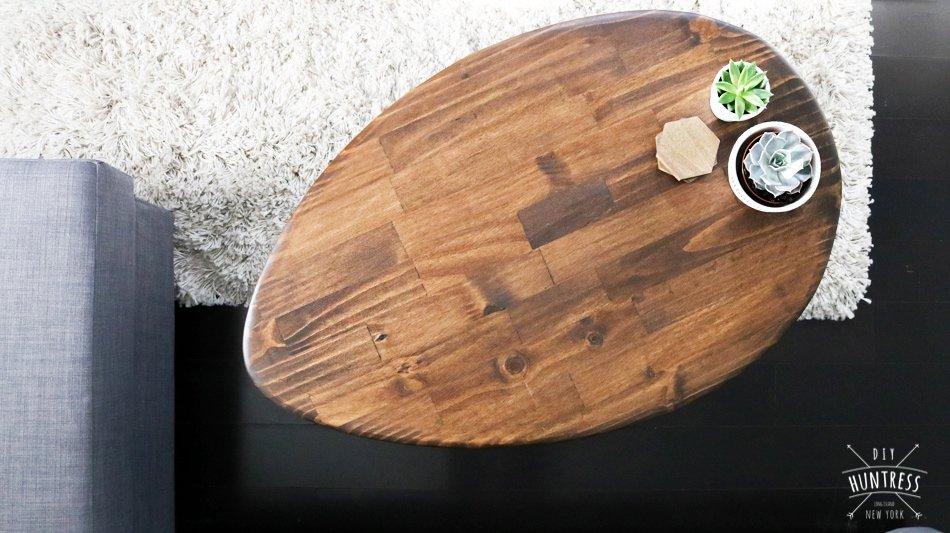 DIY Retro Coffee Table