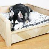DIY Custom Wooden Dog Bed