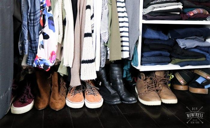 closet floor storage