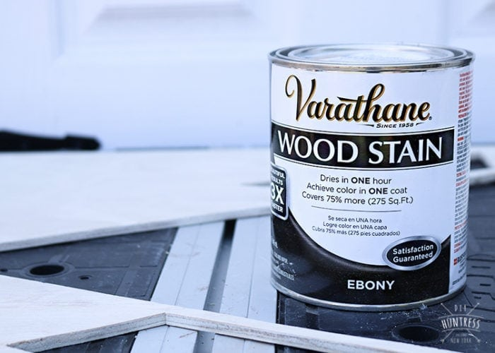 varathan wood stain project