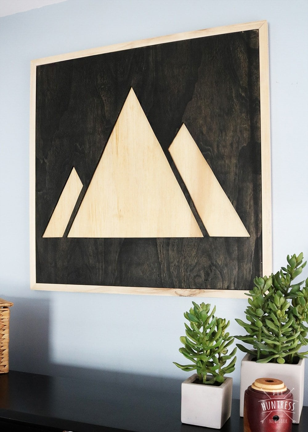 how to make custom wooden wall art