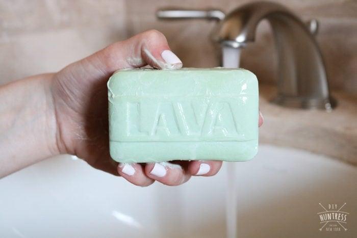 wd-40 lava soap