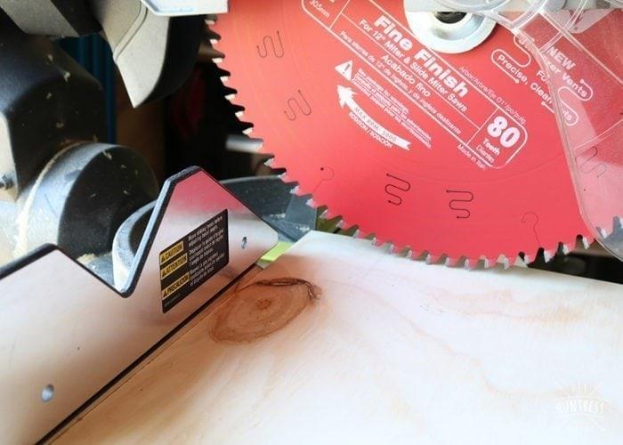 how to custom cut butcher block top