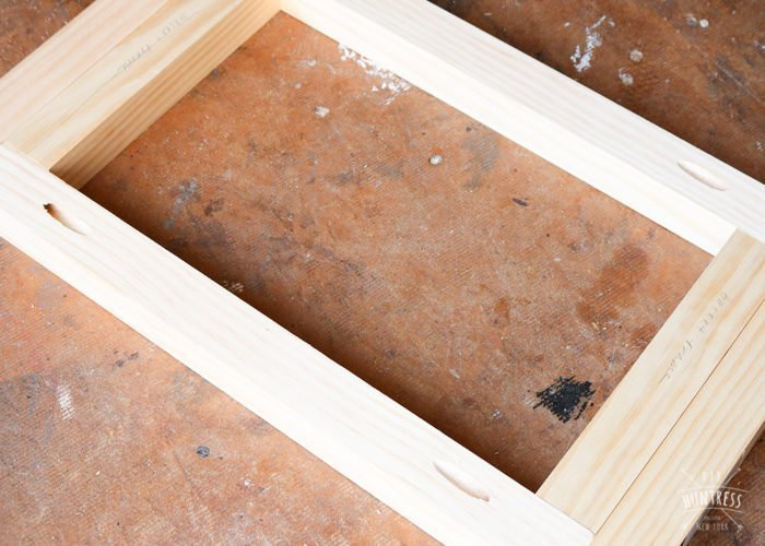 how to use spacers on wood