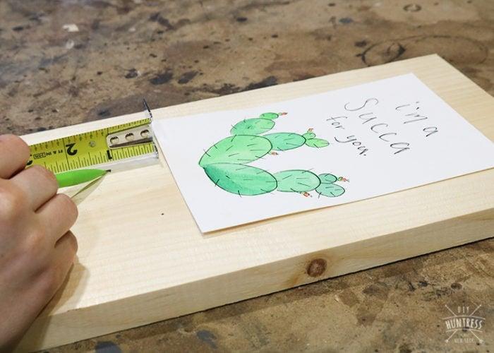 frame for post cards