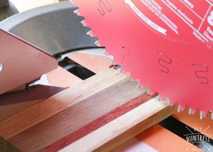 scrap wood coaster