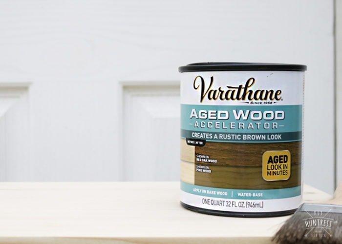 varathane aged wood stain