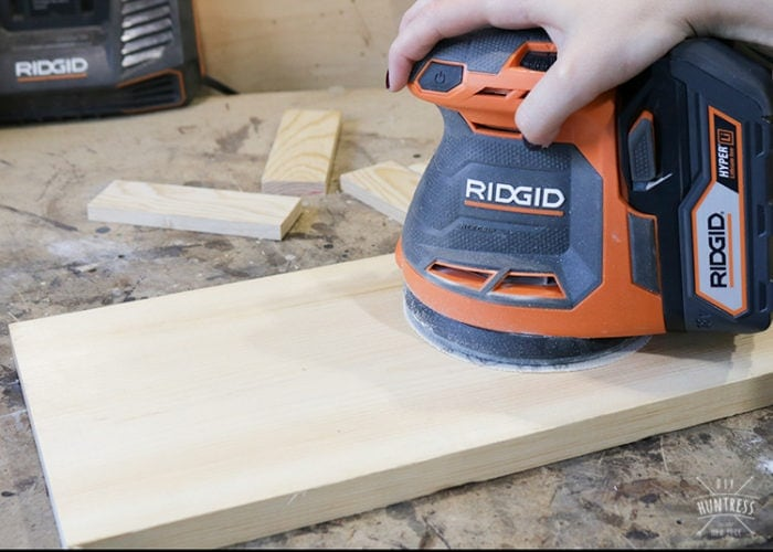 how to prep wood for outdoors