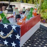 DIY Wooden Drink Cooler