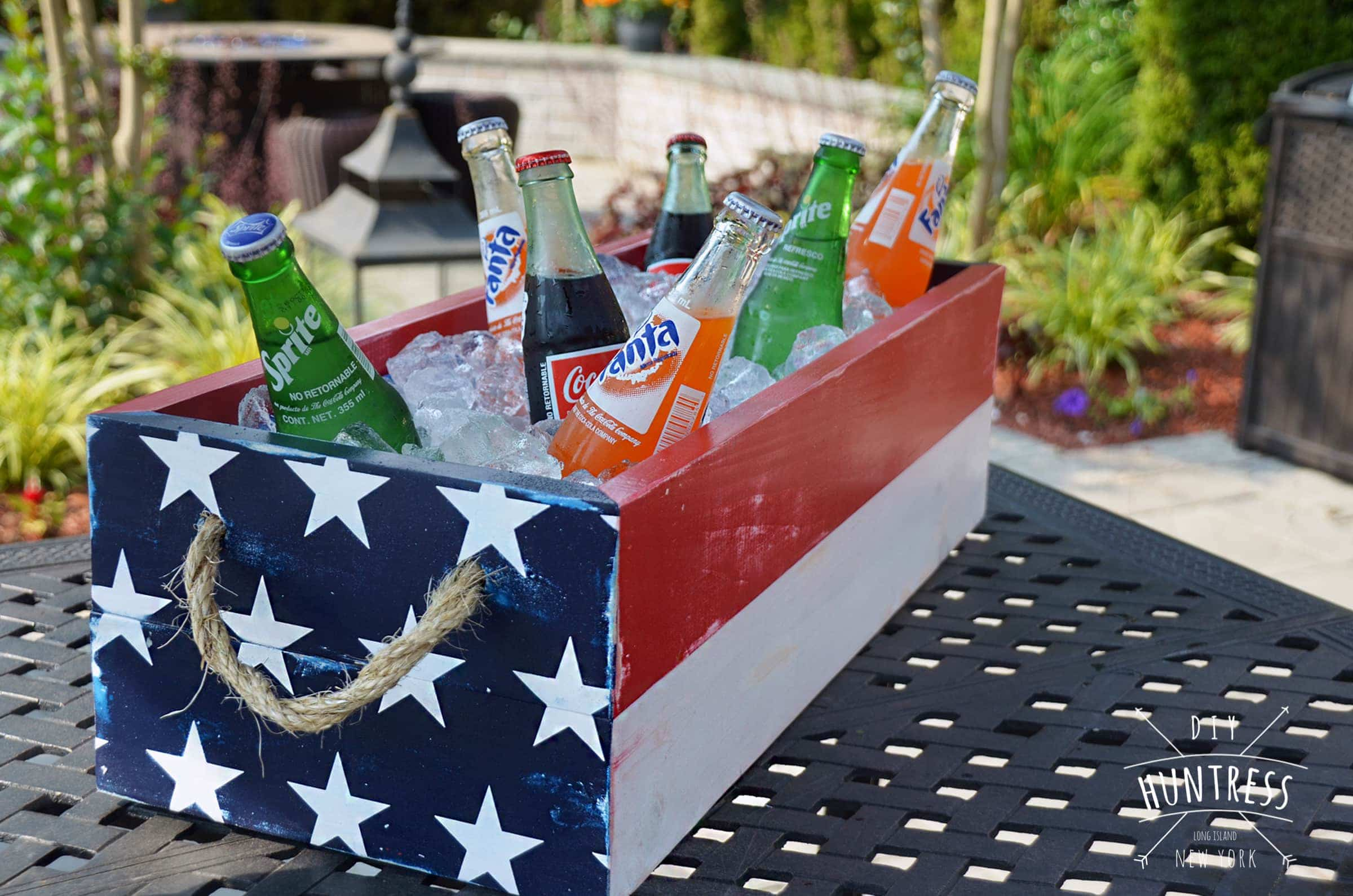DIY_Huntress_Patriotic_Wood_Cooler