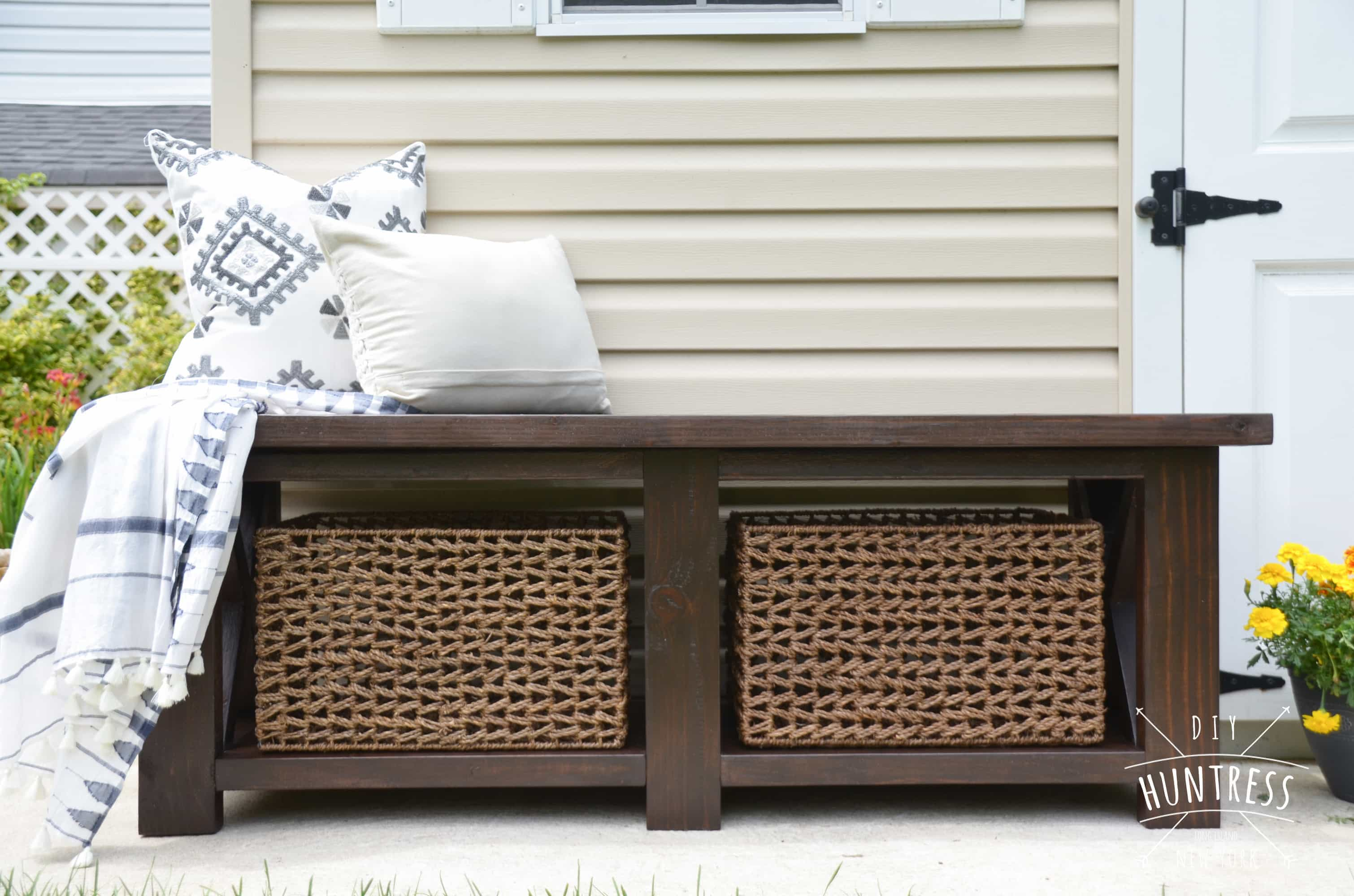 DIY_Huntress_Rustic_X_Bench-9