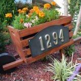 Home Depot DIH Workshop: DIY Wooden Home Address Wheelbarrow