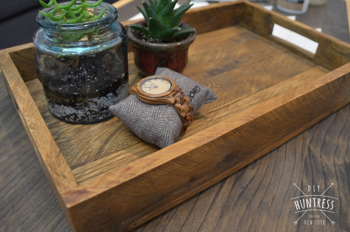 west elm wood tray knockoff