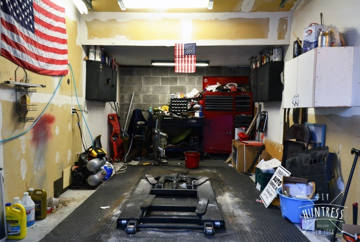 how to organize garage in one weekend