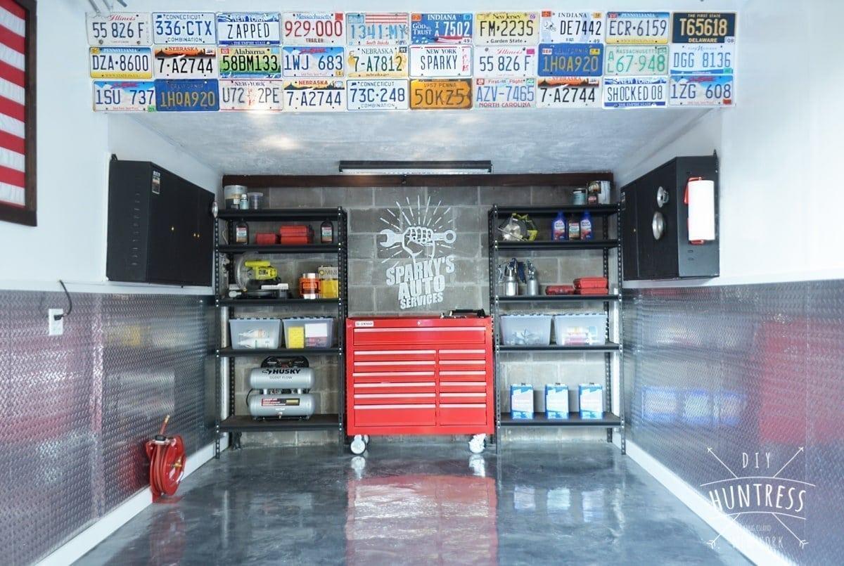 garage makeover project - Garage Makeover