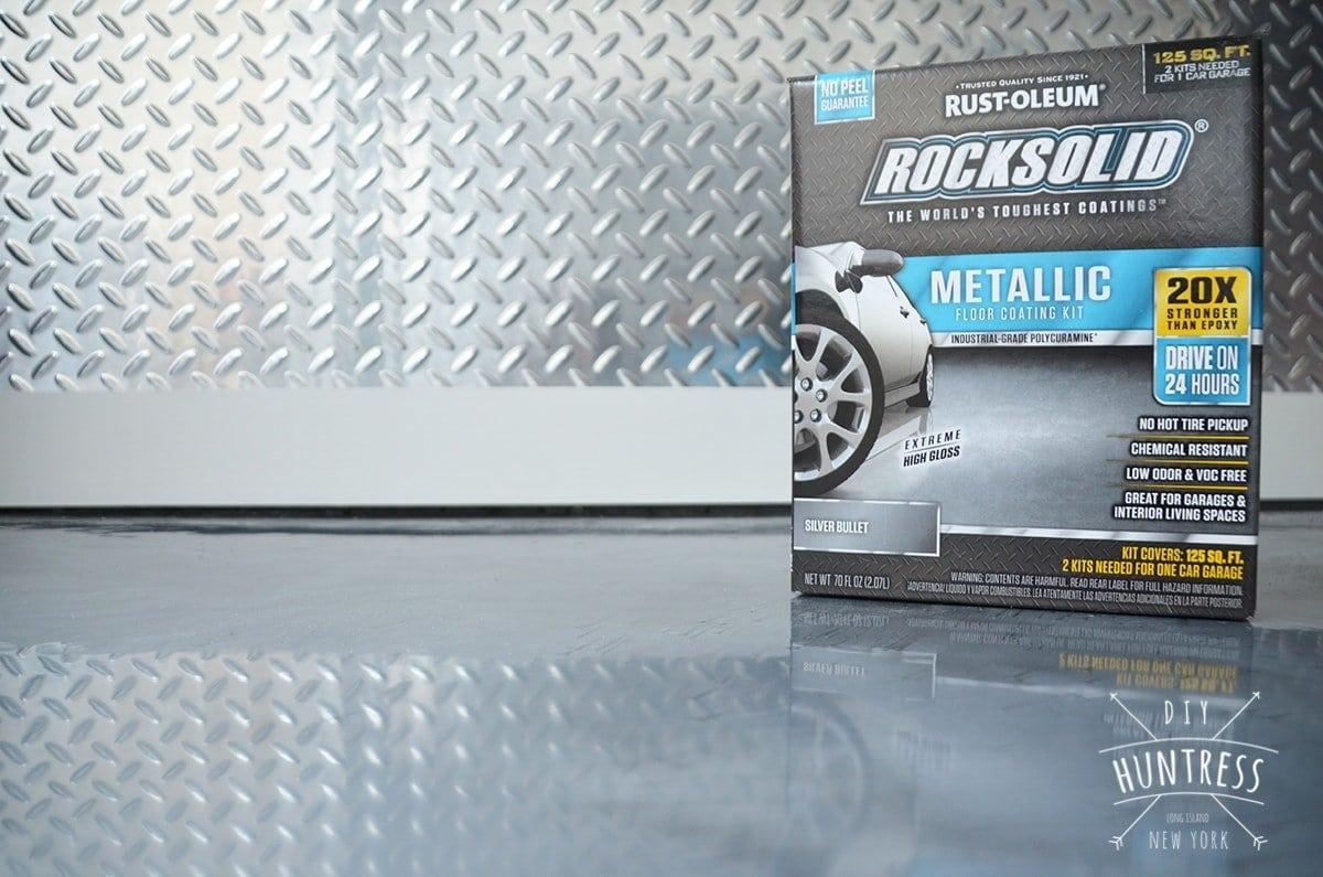 how to install rustoleum rock solid garage floor