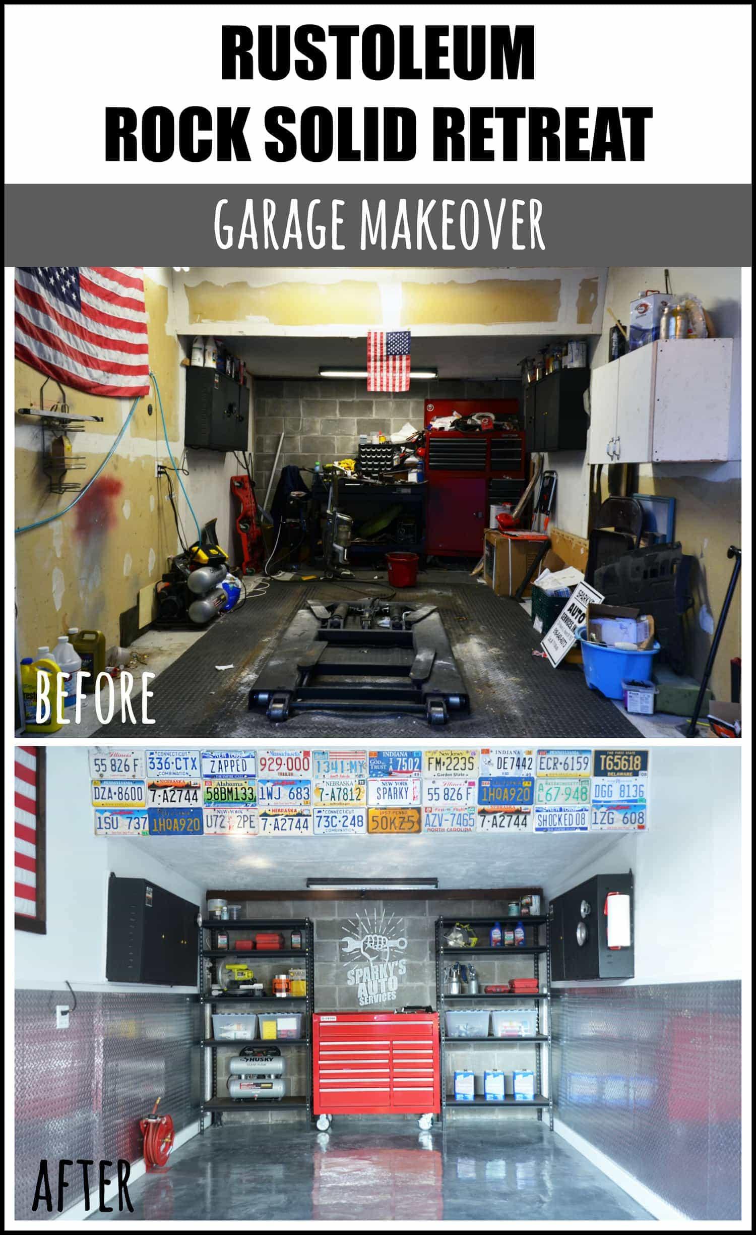 how to install rustoleum rock solid garage flooring