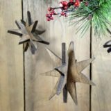 DIY Wooden Star Ornaments
