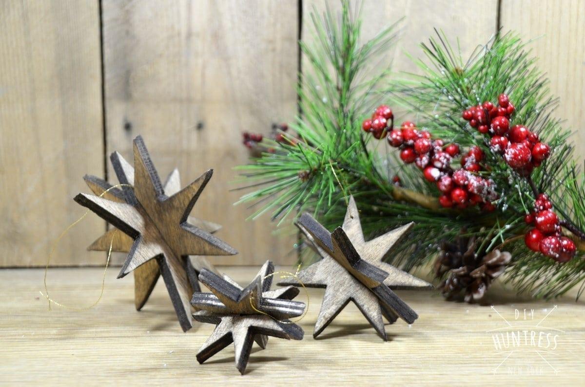 beautiful star ornaments