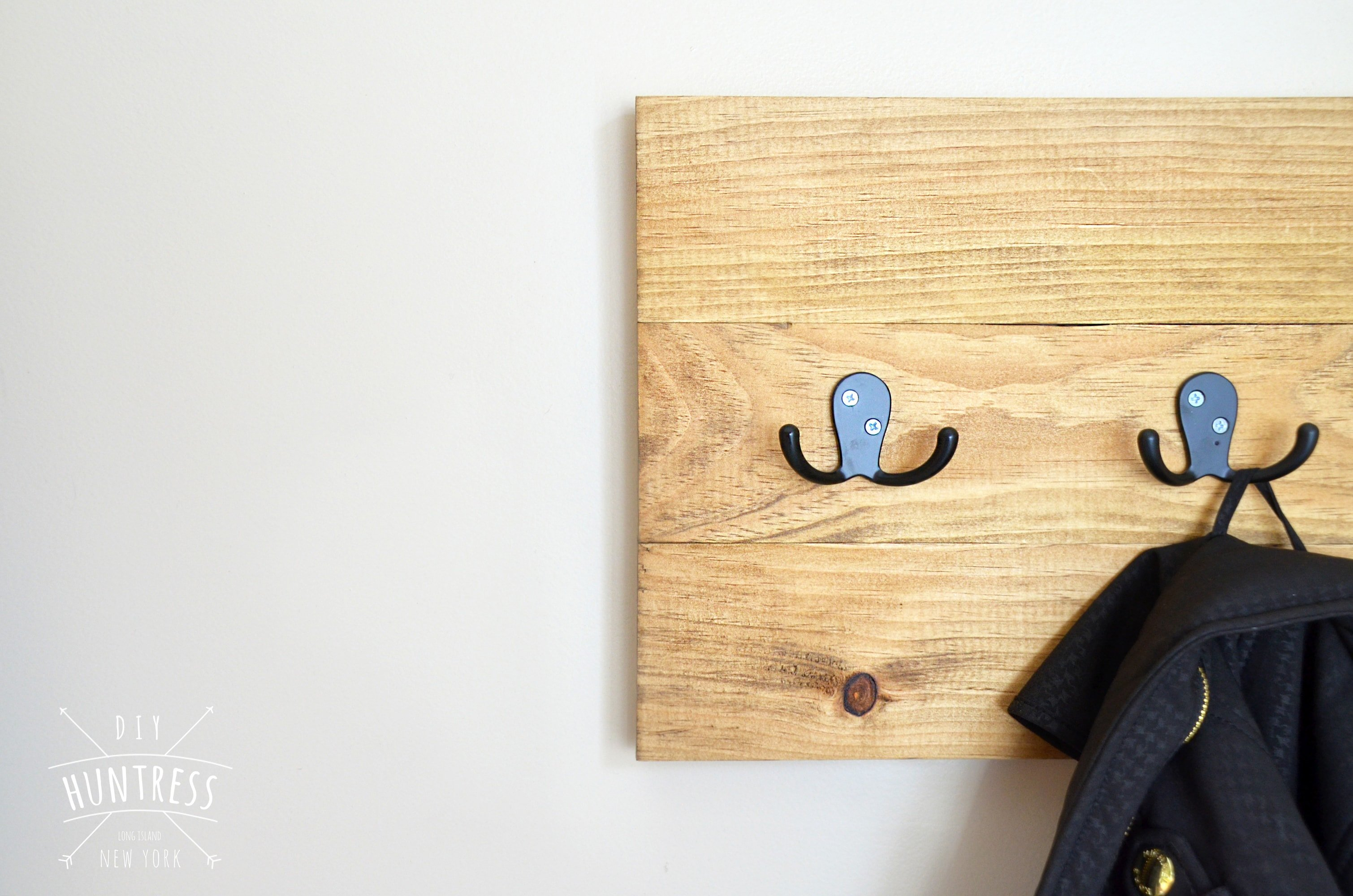 how to make a coat rack